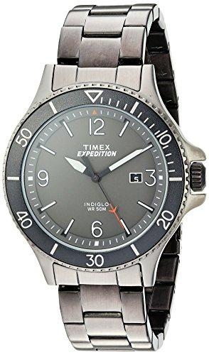 タイメックス 腕時計 メンズ TW4B10800 【送料無料】Timex Men's TW4B10800 Expedition Ranger Gray Stainless Steel Bracelet Watchタイメックス 腕時計 メンズ TW4B10800