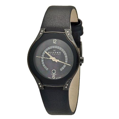 スカーゲン 腕時計 レディース 886SBLB 【送料無料】Skagen Women's 886SBLB Black Label Black Mother-Of-Pearl Dial Watchスカーゲン 腕時計 レディース 886SBLB