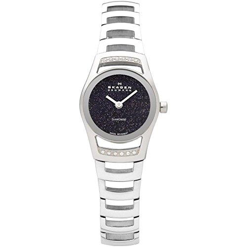 スカーゲン 腕時計 レディース 982SSXN 【送料無料】Skagen Women's Black Label Swiss Mvmnt Elegant with Stainless Steel Watchスカーゲン 腕時計 レディース 982SSXN