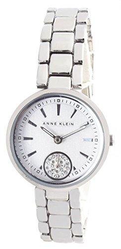 アンクライン 腕時計 レディース 【送料無料】Anne Klein Silver Dial Metal Bracelet Women's Quartz Watch AK/2220SVSVアンクライン 腕時計 レディース