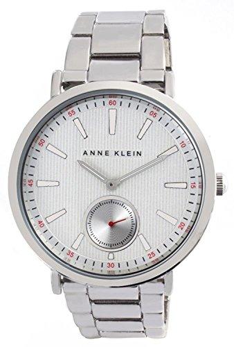 アンクライン 腕時計 レディース Anne Klein Women's Silver Dial Metal Bracelet Quartz Watch AK/2221SVSVアンクライン 腕時計 レディース