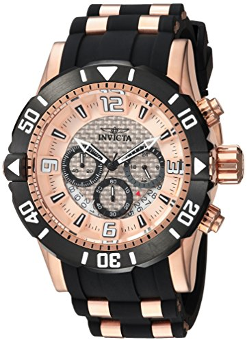 インヴィクタ インビクタ プロダイバー 腕時計 メンズ 23708 【送料無料】Invicta Men's Pro Diver Stainless Steel Quartz Diving Watch with Polyurethane Strap, Two Tone, 26 (Model: 23708)インヴィクタ インビクタ プロダイバー 腕時計 メンズ 23708