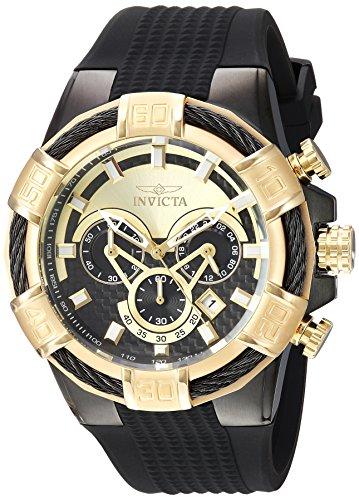 インヴィクタ インビクタ 腕時計 メンズ 24699 Invicta Men's Stainless Steel Quartz Watch with Silicone Strap, Black, 28 (Model: 24699)インヴィクタ インビクタ 腕時計 メンズ 24699
