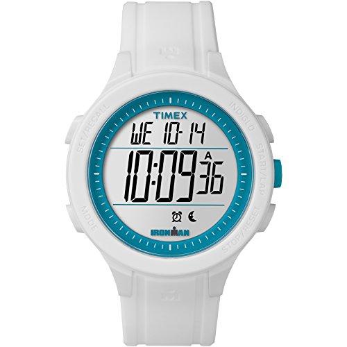 腕時計 タイメックス レディース TW5M14800 【送料無料】Timex Men's TW5M14800 Ironman Essential 30 White/Blue Silicone Strap Watch腕時計 タイメックス レディース TW5M14800