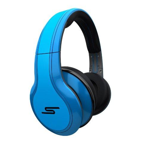 海外輸入ヘッドホン ヘッドフォン イヤホン 海外 輸入 SMS-WD-BLU 【送料無料】STREET by 50 Cent Wired Over-Ear Headphones - Blue by SMS Audio (Discontinued by Manufacturer)海外輸入ヘッドホン ヘッドフォン イヤホン 海外 輸入 SMS-WD-BLU