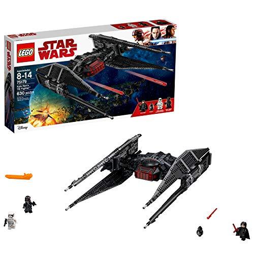 レゴ スターウォーズ 6175749 【送料無料】LEGO Star Wars Episode VIII Kylo Ren's Tie Fighter 75179 Building Kit, TIE Silencer Model and Popular Gift for Kids (630 Pieces)レゴ スターウォーズ 6175749