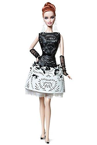バービー バービー人形 バービーコレクター コレクタブルバービー プラチナレーベル Laser Leatherette Barbie - Black and White Collection - Limited Editionバービー バービー人形 バービーコレクター コレクタブルバービー プラチナレーベル