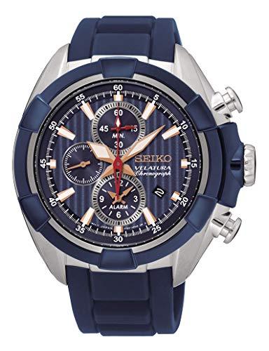 セイコー 腕時計 メンズ SNAF59P1 【送料無料】Seiko velatura Mens Analog Quartz Watch with Silicone Bracelet SNAF59P1セイコー 腕時計 メンズ SNAF59P1