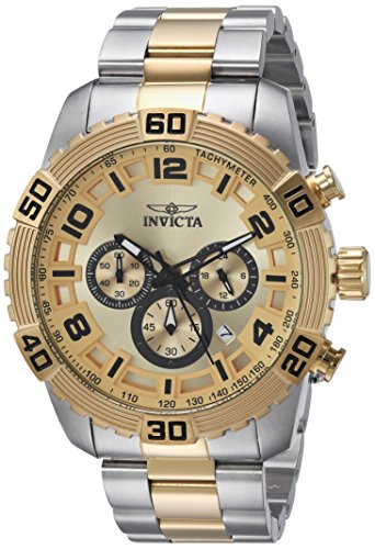 インヴィクタ インビクタ プロダイバー 腕時計 メンズ 24605 Invicta Men's Pro Diver Quartz Watch with Stainless-Steel Strap, Two Tone, 15 (Model: 24605)インヴィクタ インビクタ プロダイバー 腕時計 メンズ 24605