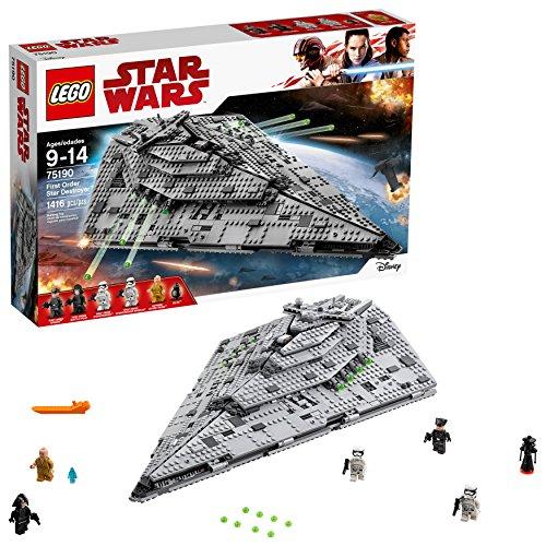 レゴ スターウォーズ 6175767 LEGO Star Wars Episode VIII First Order Star Destroyer 75190 Building Kit (1416 Piece)レゴ スターウォーズ 6175767