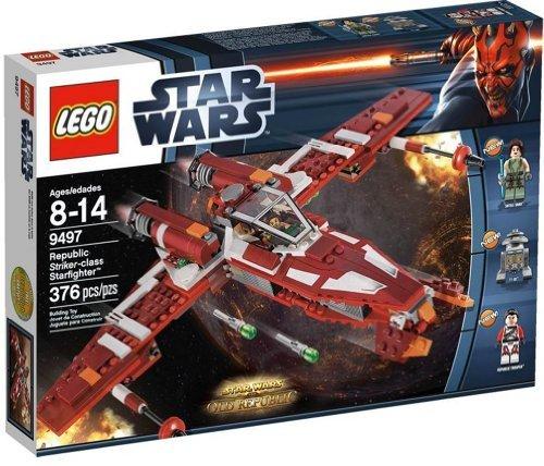 レゴ スターウォーズ LEGO (Star Wars Republican Striker Class Star Fighter (TM) 9497レゴ スターウォーズ