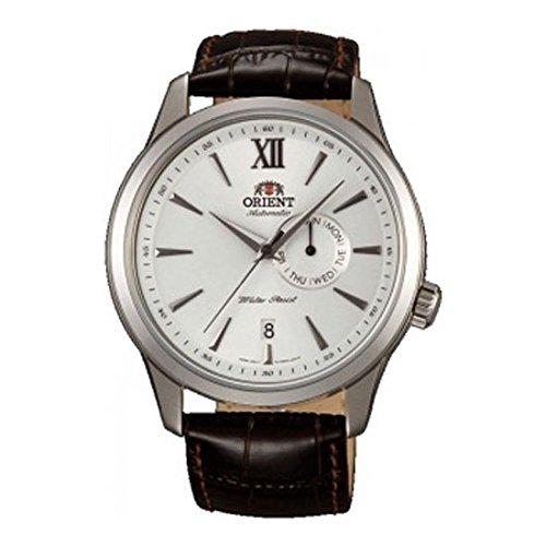 オリエント 腕時計 メンズ FES00006W0 Orient FES00006W0 43mm Automatic Stainless Steel Case Brown Calfskin Mineral Men's Watchオリエント 腕時計 メンズ FES00006W0
