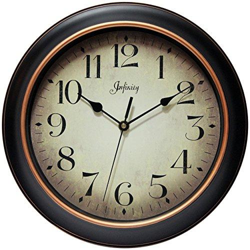 壁掛け時計 インテリア インテリア 海外モデル アメリカ 14877BG-2732 【送料無料】Infinity Instruments 14877BG-2732 Precedent Silent Sweep 12 inch Wall Clock壁掛け時計 インテリア インテリア 海外モデル アメリカ 14877BG-2732