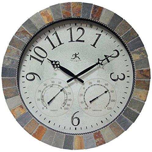 壁掛け時計 インテリア インテリア 海外モデル アメリカ 12648 Infinity Instruments Inca Indoor/Outdoor Mosaic Wall Clock壁掛け時計 インテリア インテリア 海外モデル アメリカ 12648
