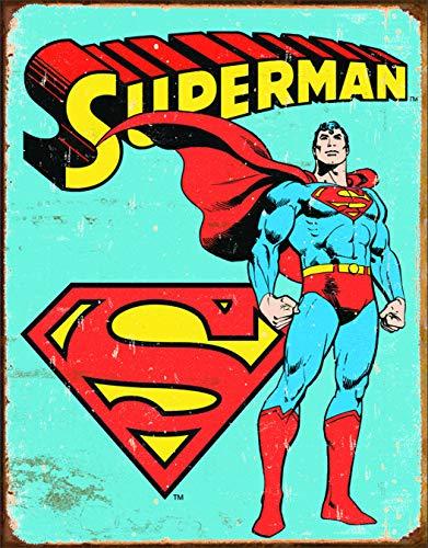 壁飾り インテリア タペストリー 壁掛けオブジェ 海外デザイン TSN1335 Poster Revolution MS1335 Superman Tin Sign 12 x 16in Multi-Colored壁飾り インテリア タペストリー 壁掛けオブジェ 海外デザイン TSN1335