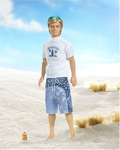バービー バービー人形 ケン Ken J6897 Barbie Beach Fun Ken Doll Fiesta Tropicalバービー バービー人形 ケン Ken J6897