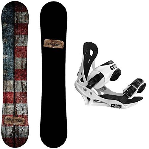 スノーボード ウィンタースポーツ キャンプセブン 2017年モデル2018年モデル多数 【送料無料】Camp Seven Drifter Snowboard with Summit Bindings Men's Snowboard Package (159 cスノーボード ウィンタースポーツ キャンプセブン 2017年モデル2018年モデル多数