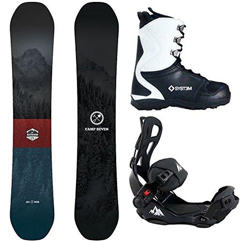 スノーボード ウィンタースポーツ キャンプセブン 2017年モデル2018年モデル多数 Camp Seven Package Redwood Snowboard 160 cm-System LTX Binding Large-System APX Boot 10スノーボード ウィンタースポーツ キャンプセブン 2017年モデル2018年モデル多数