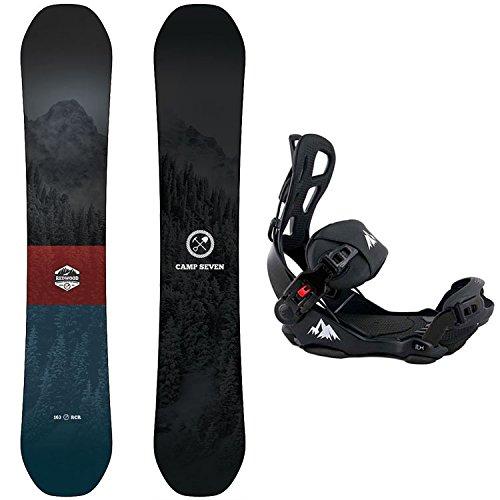スノーボード ウィンタースポーツ キャンプセブン 2017年モデル2018年モデル多数 Camp Seven Package Redwood Snowboard 158 cm Wide-System LTX Binding Largeスノーボード ウィンタースポーツ キャンプセブン 2017年モデル2018年モデル多数