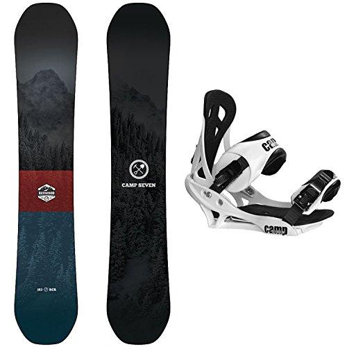 スノーボード ウィンタースポーツ キャンプセブン 2017年モデル2018年モデル多数 【送料無料】Camp Seven Package Redwood Snowboard 158 cm Wide Summit Bindingsスノーボード ウィンタースポーツ キャンプセブン 2017年モデル2018年モデル多数