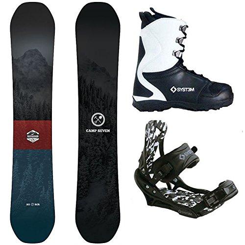 スノーボード ウィンタースポーツ キャンプセブン 2017年モデル2018年モデル多数 Camp Seven Package Redwood Snowboard 149 cm-System APX Bindings-System APX Boot 12スノーボード ウィンタースポーツ キャンプセブン 2017年モデル2018年モデル多数