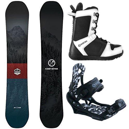スノーボード ウィンタースポーツ キャンプセブン 2017年モデル2018年モデル多数 Camp Seven Package Redwood Snowboard 153 cm-System APX Bindings-System APX Boot 13スノーボード ウィンタースポーツ キャンプセブン 2017年モデル2018年モデル多数