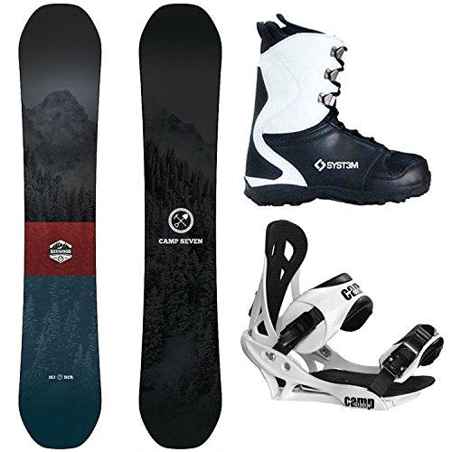 スノーボード ウィンタースポーツ キャンプセブン 2017年モデル2018年モデル多数 Camp Seven Package Redwood Snowboard 160 cm Summit Bindings-System APX Boot 9スノーボード ウィンタースポーツ キャンプセブン 2017年モデル2018年モデル多数