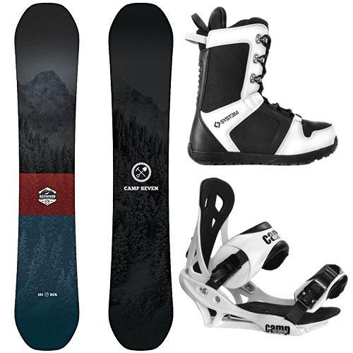 スノーボード ウィンタースポーツ キャンプセブン 2017年モデル2018年モデル多数 Camp Seven Package Redwood Snowboard 149 cm Summit Bindings-System APX Boot 9スノーボード ウィンタースポーツ キャンプセブン 2017年モデル2018年モデル多数