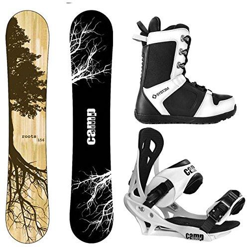 スノーボード ウィンタースポーツ キャンプセブン 2017年モデル2018年モデル多数 Camp Seven Package Roots CRC Snowboard 156 cm Summit Bindings-System APX Snowboard Boots 12スノーボード ウィンタースポーツ キャンプセブン 2017年モデル2018年モデル多数