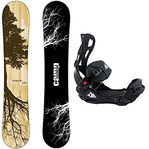 スノーボード ウィンタースポーツ キャンプセブン 2017年モデル2018年モデル多数 Package-Camp Seven Roots CRC 2018 Snowboard-153 cm-System LTX Binding Largeスノーボード ウィンタースポーツ キャンプセブン 2017年モデル2018年モデル多数