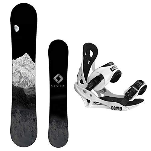 スノーボード ウィンタースポーツ キャンプセブン 2017年モデル2018年モデル多数 【送料無料】System MTN Snowboard with Summit Bindings Men's Snowboard Package (144 cm)スノーボード ウィンタースポーツ キャンプセブン 2017年モデル2018年モデル多数