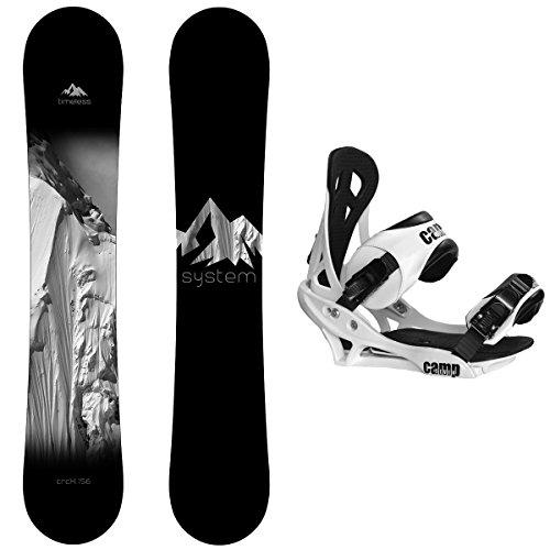 スノーボード ウィンタースポーツ キャンプセブン 2017年モデル2018年モデル多数 【送料無料】System Package Timeless Snowboard 159 cm-Summit Bindingスノーボード ウィンタースポーツ キャンプセブン 2017年モデル2018年モデル多数