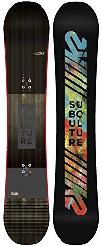 スノーボード ウィンタースポーツ ケーツー 2017年モデル2018年モデル多数 Subculture Mens Snowboard K2 Subculture Snowboard Mens Sz 153cmスノーボード ウィンタースポーツ ケーツー 2017年モデル2018年モデル多数 Subculture Mens Snowboard