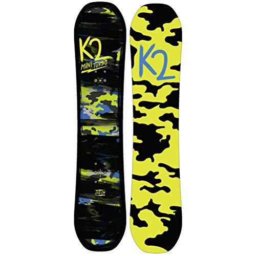 スノーボード ウィンタースポーツ ケーツー 2017年モデル2018年モデル多数 K2 Mini Turbo Snowboard 2018 - Kid's 100cmスノーボード ウィンタースポーツ ケーツー 2017年モデル2018年モデル多数