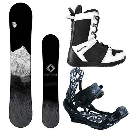 スノーボード ウィンタースポーツ システム 2017年モデル2018年モデル多数 【送料無料】System MTN and APX Complete Men's Snowboard Package (147 cm, Boot Size 13)スノーボード ウィンタースポーツ システム 2017年モデル2018年モデル多数