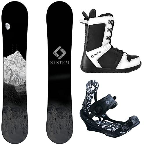 スノーボード ウィンタースポーツ システム 2017年モデル2018年モデル多数 【送料無料】System MTN and APX Complete Men's Snowboard Package (153 cm, Boot Size 8)スノーボード ウィンタースポーツ システム 2017年モデル2018年モデル多数