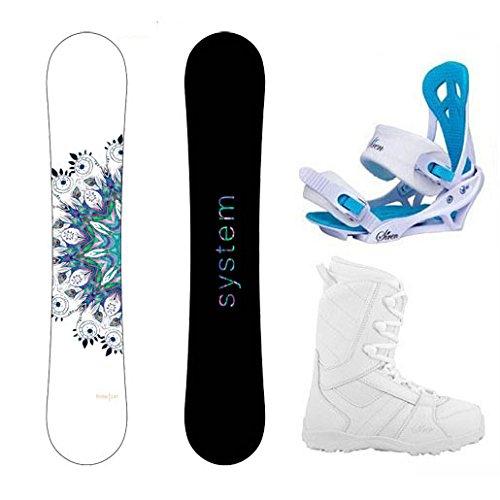 スノーボード ウィンタースポーツ システム 2017年モデル2018年モデル多数 【送料無料】System Package Flite Women's Snowboard-143 cm-Siren Mystic Bindings-Siren Lux Women's Snowboスノーボード ウィンタースポーツ システム 2017年モデル2018年モデル多数