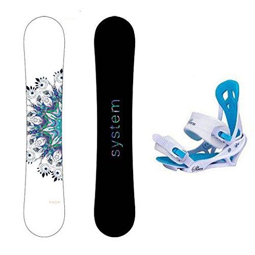 スノーボード ウィンタースポーツ システム 2017年モデル2018年モデル多数 System Package 2018 Flite Women's Snowboard-146 cm-Siren Mystic Bindingsスノーボード ウィンタースポーツ システム 2017年モデル2018年モデル多数