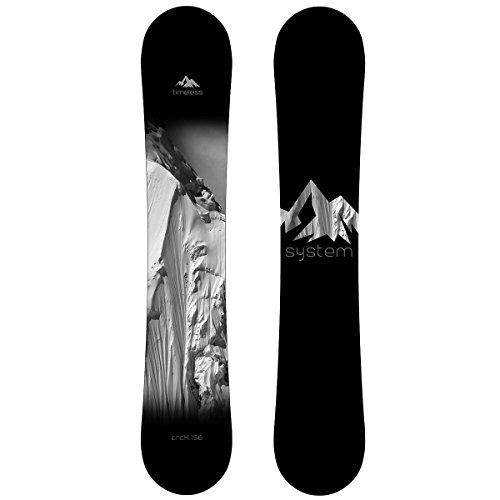 スノーボード ウィンタースポーツ システム 2017年モデル2018年モデル多数 【送料無料】System Timeless CRCX Men's Snowboard 163 cm Wideスノーボード ウィンタースポーツ システム 2017年モデル2018年モデル多数