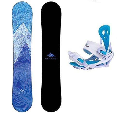 スノーボード ウィンタースポーツ システム 2017年モデル2018年モデル多数 【送料無料】System 2020 Juno and Mystic Women's Snowboard Package (149 cm)スノーボード ウィンタースポーツ システム 2017年モデル2018年モデル多数
