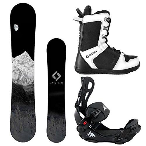 スノーボード ウィンタースポーツ システム 2017年モデル2018年モデル多数 【送料無料】System Package MTN CRCX Snowboard-158 cm Wide LTX Binding Large APX Snowboard Boots 12スノーボード ウィンタースポーツ システム 2017年モデル2018年モデル多数