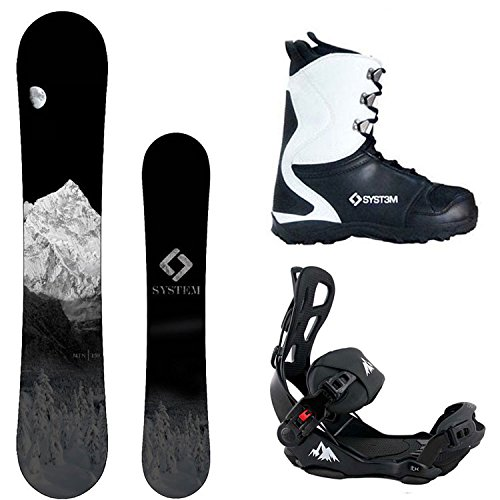 スノーボード ウィンタースポーツ システム 2017年モデル2018年モデル多数 【送料無料】System Package MTN CRCX Snowboard-163 cm Wide LTX Binding Large APX Snowboard Boots 12スノーボード ウィンタースポーツ システム 2017年モデル2018年モデル多数