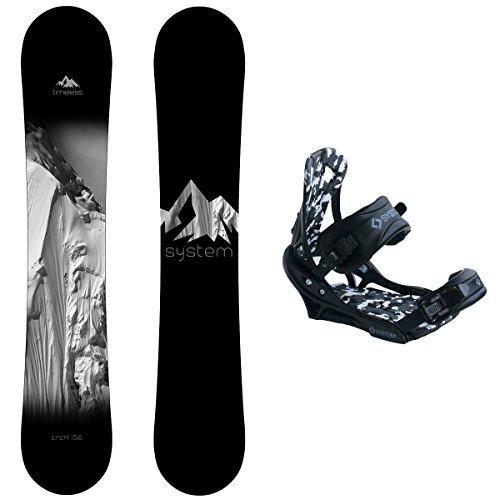 スノーボード ウィンタースポーツ システム 2017年モデル2018年モデル多数 【送料無料】System Package Timeless Snowboard 153 cm-APX Bindingスノーボード ウィンタースポーツ システム 2017年モデル2018年モデル多数