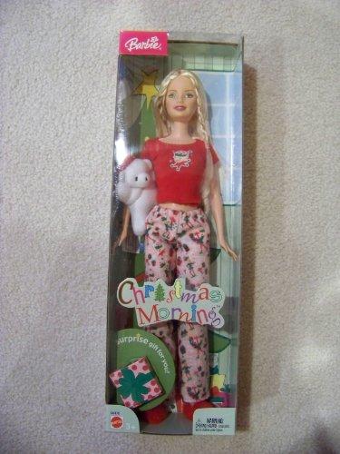 海外限定 無料ラッピングでプレゼントや贈り物にも お洒落 逆輸入並行輸入送料込 バービー バービー人形 送料無料 Christmas Barbie Morningバービー