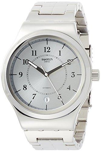 スウォッチ 腕時計 メンズ YIS412G 【送料無料】Swatch Irony Sistem Check Grey Dial Stainless Steel Unisex Watch YIS412Gスウォッチ 腕時計 メンズ YIS412G