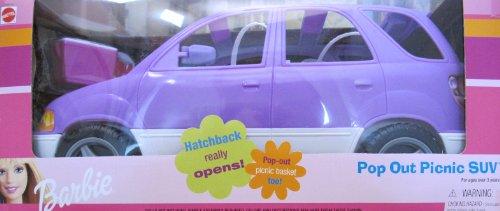 バービー バービー人形 日本未発売 プレイセット アクセサリ 67384-91 Barbie Pop Out Picnic SUV Vehicle - VAN Hatchback OPENS (2000)バービー バービー人形 日本未発売 プレイセット アクセサリ 67384-91