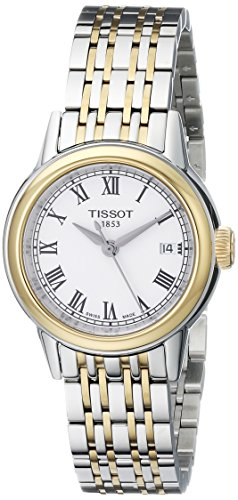 ティソ 腕時計 レディース T0852102201300 【送料無料】Tissot Women's T0852102201300 Carson Analog Display Swiss Quartz Two Tone Watchティソ 腕時計 レディース T0852102201300