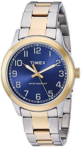 タイメックス 腕時計 メンズ TW2R36600 【送料無料】Timex Men's TW2R36600 New England Two-Tone/Blue Stainless Steel Bracelet Watchタイメックス 腕時計 メンズ TW2R36600