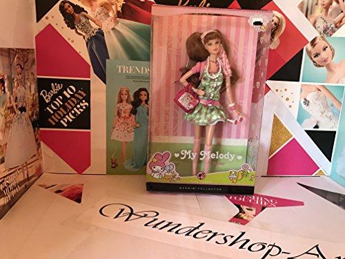 バービー バービー人形 バービーコレクター コレクタブルバービー プラチナレーベル 【送料無料】Barbie Collector Pink Label My Melody Doll by Mattelバービー バービー人形 バービーコレクター コレクタブルバービー プラチナレーベル
