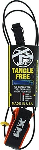 サーフィン リーシュコード マリンスポーツ XM Tangle Free Ds Complite Leash 6' [Black]サーフィン リーシュコード マリンスポーツ